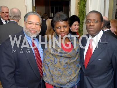 Vernon Jordan Book @ David and Katherine Bradley Residence Party Jan. 17, 2009 PHOTOS BY KYLE SAMPERTON