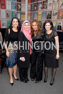 Eugenia Podesta, Sadiqa Basiri Saleem, Somaly Mam, Tali Stein, Photograph by Kyle Samperton