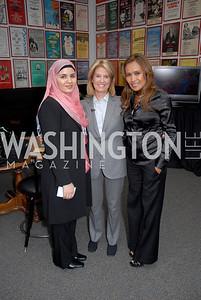 Sadiqa Basiri Saleem, Greta van Sustren, Somaly Mam, Photograph by Kyle Samperton