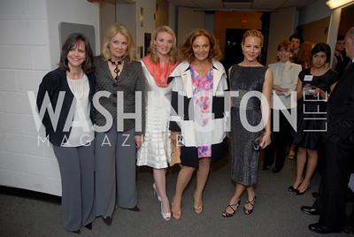 Sally Field, Candice Bergen, Alysee Nelson, Diane Von Furstenberg, Maria Bellolo, Photograph by Kyle Samperton