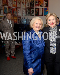 Melanne Verveer, Hillary Clinton, Photograph by Kyle Samperton
