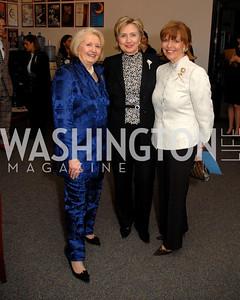 Melanne Verveer, Hillary Clinton, Susan Davis, Photograph by Kyle Samperton