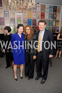 Sheryl Wudunn, Somaly Mam, Nicholas Kristof, Photograph by Kyle Samperton