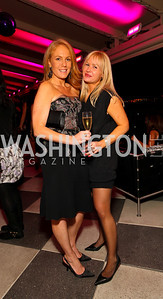 Alexe Nowakowski and Letitia Hayes. W Hotel Grand Opening. October 8, 2009. photos by Tony Powell