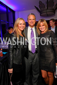 Valerie Wolslayer, Mark Schoenfeld, Dondi Dahlgard. W Hotel Grand Opening. October 8, 2009. photos by Tony Powell