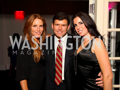 Sharon Dougherty, Brett and Amy Baier. W Hotel Grand Opening. October 8, 2009. photos by Tony Powell