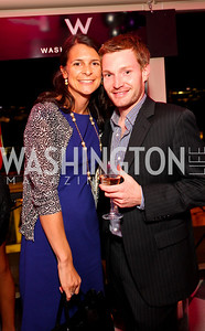 Courtney O'Donnell, Nick Shmit. W Hotel Grand Opening. October 8, 2009. photos by Tony Powell