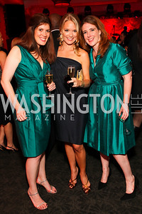 Erin Hartigan, Amanda McClements, Kelly DiNardo. W Hotel Grand Opening. October 8, 2009. photos by Tony Powell