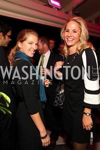 Erin Tumey, Rachel Domencic. W Hotel Grand Opening. October 8, 2009. photos by Tony Powell