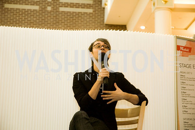 Christian Siriano. Westfields Event. Montgomery Mall. October 3, 2009. Photos by Betsy Spruill Clarke.