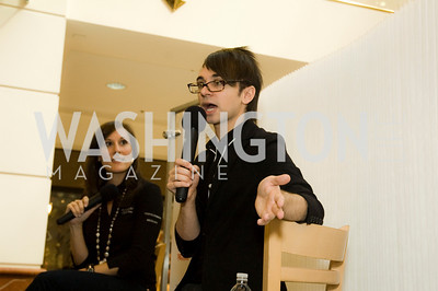 Renee Mihale, Christian Siriano. Westfields Event. Montgomery Mall. October 3, 2009. Photos by Betsy Spruill Clarke.