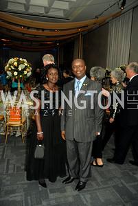 Kwame Bawuah-edusei, Evangeline Bawuah-edusei,  Photo by Kyle Samperton