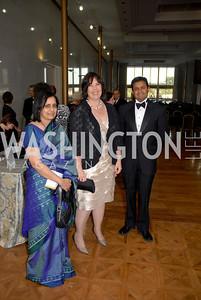 Sarojini Parmeswaran, Carol Dreher, Siddath Parmeswaran, Photo by Kyle Samperton