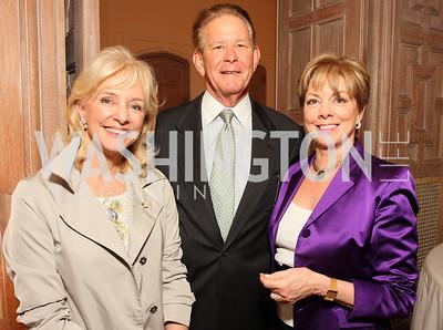 Caroline Boutte, Peter Gallagher, and Diane Bruce