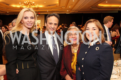 Rima Al-Sabah, Salem Al-Sabah, Esther Coopersmith, Loretta Sanchez Photo by Tony Powell