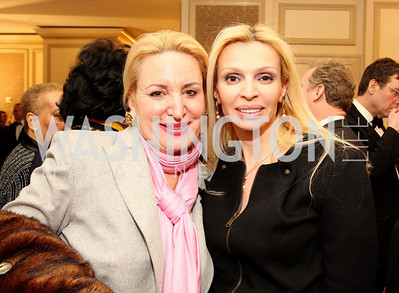 Christine Warnke, Rima Al-Sabah Photo by Tony Powell