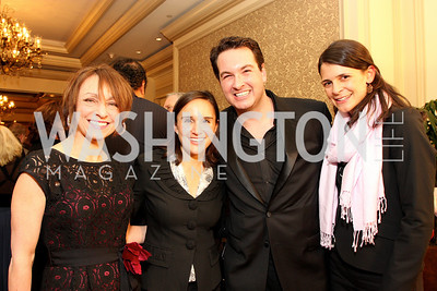 Ellen Kampinksy, Katie McCormick-Lelyveld, Marc Adelman, Courtney O'Donnell  Photo by Tony Powell