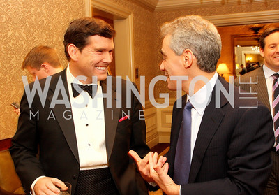 Brett Baier, Rahm Emanuel Photo by Tony Powell