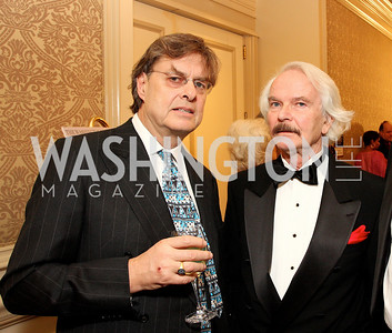 Andrew Cockburn, Bernd Debusmann Photo by Tony Powell