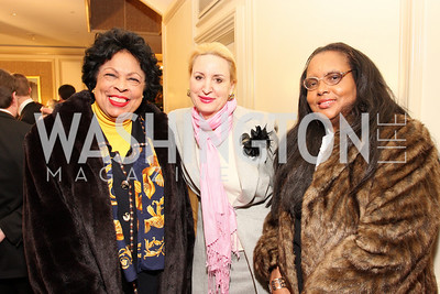 Diane Watson, Christine Warnke, and Alice Homes McKoy Photo by Tony Powell
