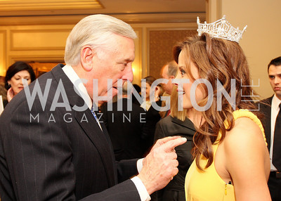 Steny Hoyer, Katie Stam Photo by Tony Powell