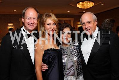 John Emerson, Kimberly Marteau, Rhoda Glickman, Dan Glickman, photos by Tony Powell