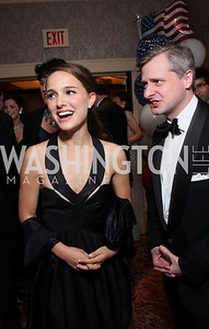 Natalie Portman, Jon Meacham, photos by Tony Powell