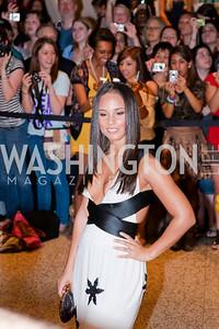 Alicia Keys. White House Correspondents Dinner Red Carpet 2009. Photos by Jonah Koch.