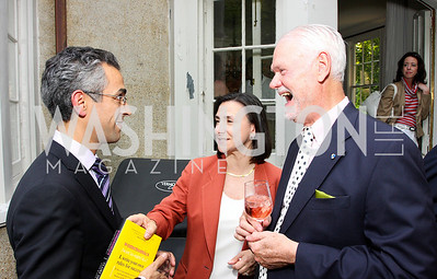 Richard Wolffe, Susan Feeney, C Braxton Moncure, (Photo by Tony Powell)