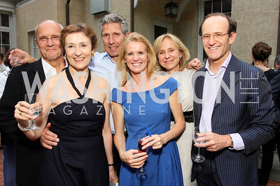 Geoffrey Lamb, Caroline Atkinson, Nick Van Praag, Katty Kay, Titina De Montague, Sindo Oliveros (Photo by Tony Powell)