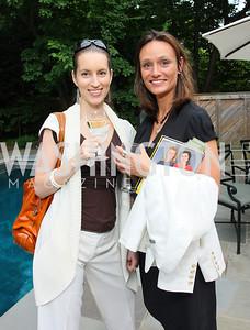 Nicki Alexiev and Rachel Martin (Photo by Tony Powell)