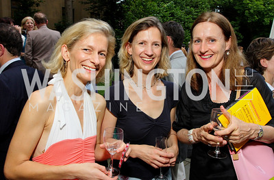 Zanny Minton-Beddoes, Helena de Bertodano, Amelia Wooldridge (Photo by Tony Powell)