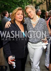 Hilary Rosen, Ali Wentworth (Photo by Tony Powell)