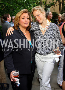 Hilary Rosen, Ali Wentworth (Photo by Tony Powell)