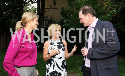 Jennifer Cain, Kathryn Hall, Tom Hardart (Photo by Tony Powell)