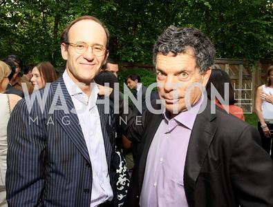 Sindo Oliveros, Conrad Cafritz, (Photo by Tony Powell)