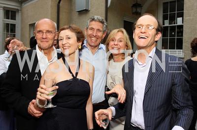 Geoffrey Lamb, Caroline Atkinson, Nick Van Praag, Titina De Montague, Sindo Oliveros (Photo by Tony Powell)