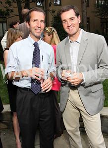 Tim Reid, Richard Lister, (Photo by Tony Powell)