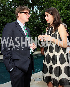 Graham Wilson, Claire D-Alba (Photo by Tony Powell)