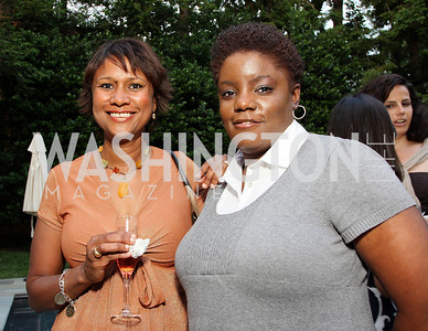Audrey Taylor, Tiffani Davis, (Photo by Tony Powell)