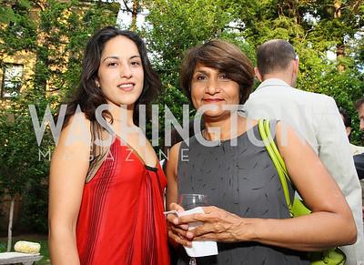 Nikki Sorg, Suman Sorg, (Photo by Tony Powell)