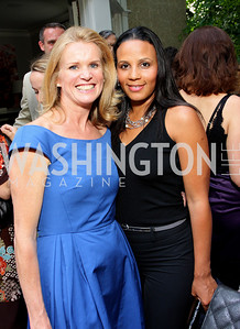 Katty Kay, Michelle Fenty (Photo by Tony Powell)