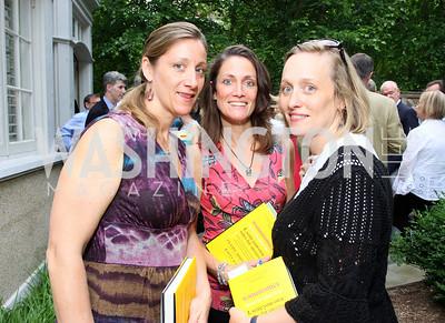 Amy Thek, Ava Thek, Nancy Enderby (Photo by Tony Powell)