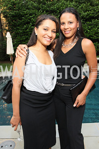 Natasha Bobo, Michelle Fenty (Photo by Tony Powell)