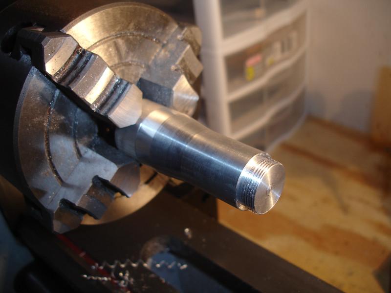 Tailcap threads cut