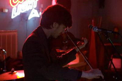 Daniel Hart on violin