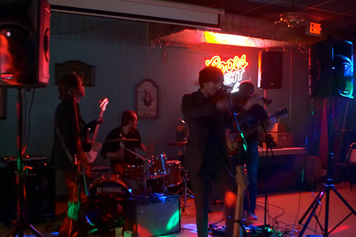 Physics Of Meaning plays a small show in Easley, Wylie (the guitarist)'s hometown
