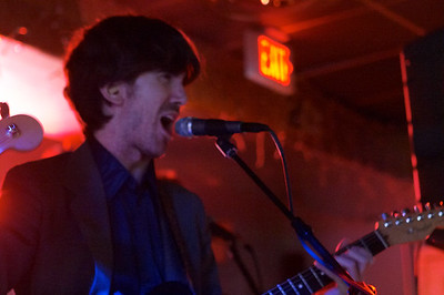 Daniel Hart also plays guitar and sings