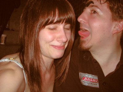 Dan's just licking everyone