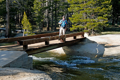 Lyell Fork just before the Tuolumne High Sierra Camp.
